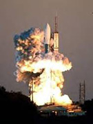 Delta II rocket lifts off from the Cape Canaveral Air Force Station in Cape Canaveral, Fla, February 17, 2007